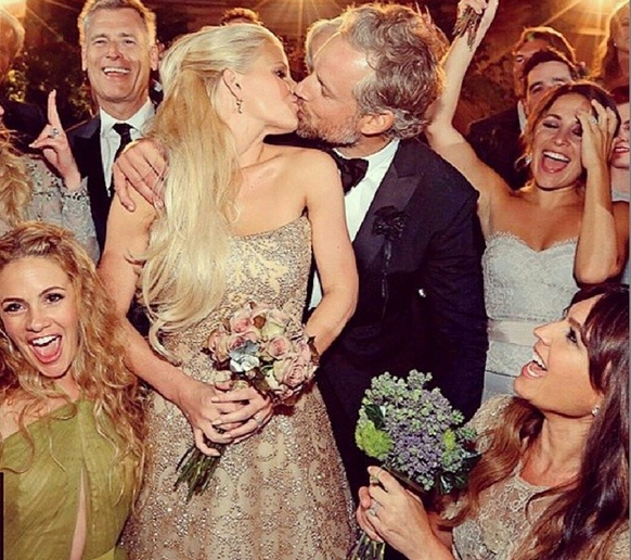 Brides Magazine:   3 New Details We Learned About Jessica Simpson's Wedding