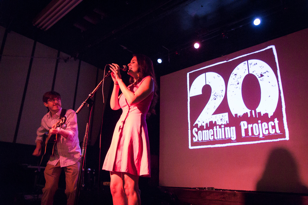 Photo by Jonathan Louie at the 20 Something Project Showcase