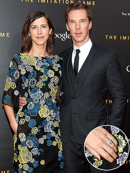 People Magazine: Benedict Cumberbatch and Sophie Hunter Make First Public Appearance Since Engagement