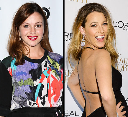 People Magazine:   The Hilarious Way Amber Tamblyn Found Out That Blake Lively Gave Birth