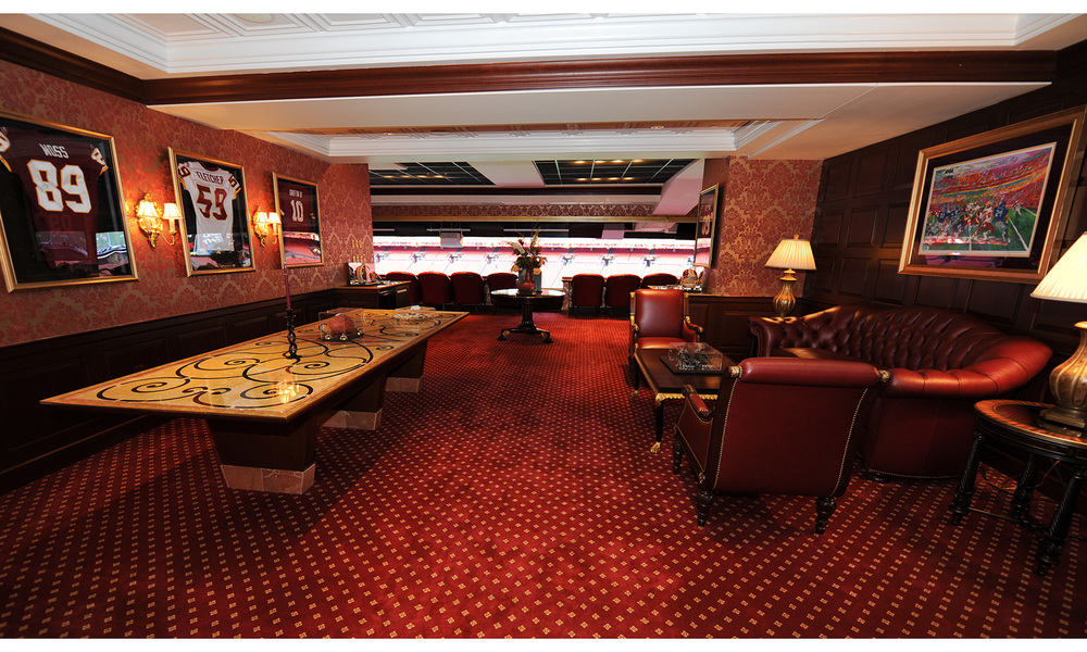 DuJour Magazine:   5 Amazing Stadium Suites