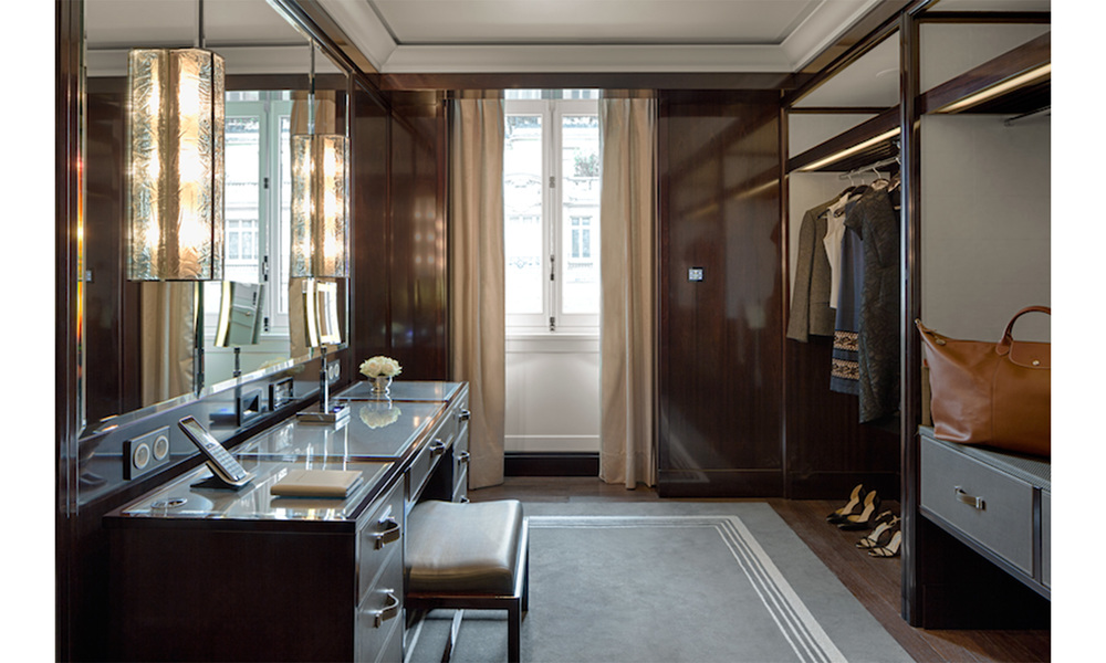 DuJour Magazine: The Most Luxurious Hotel Closets Ever