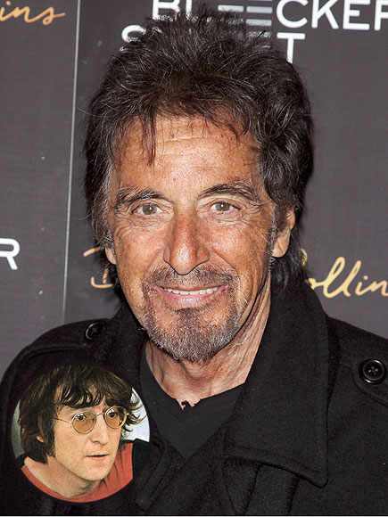 People Magazine:   Imagine That: Who Once Left Al Pacino Starstruck?