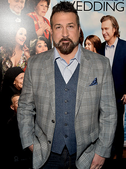 People Magazine: Joey Fatone Shuts Down 'NSYNC vs. Backstreet Boys Rivalry While Discussing Syfy's Boy Band Movie