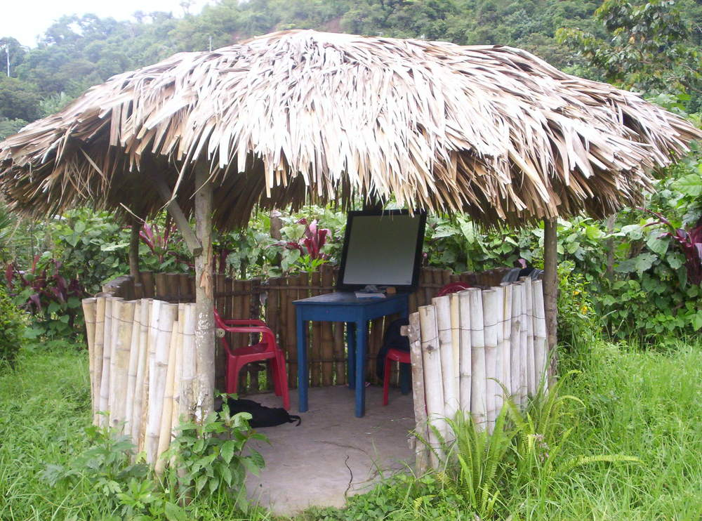 If you've got to study somewhere, this might just be the ideal spot. Unfortunately it's in the highlands of Guatemala, so it's not convenient to most study sessions.