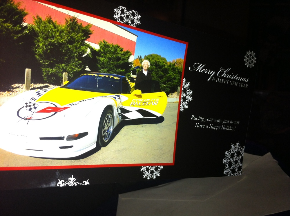 Gran Fran's 2014 Christmas Card