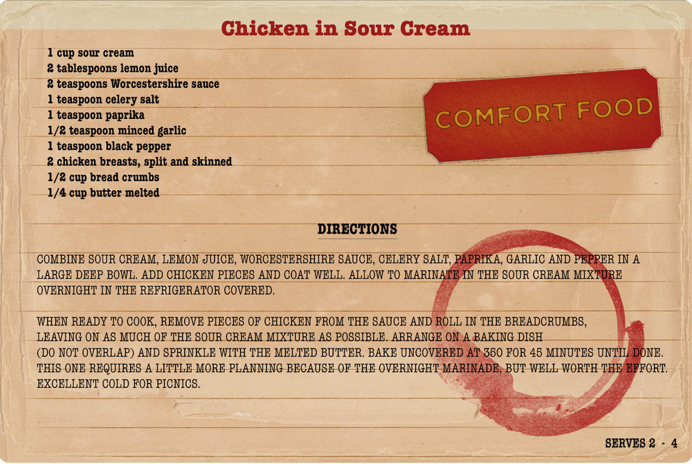 College Comfort Food: Chicken in Sour Cream.jpg