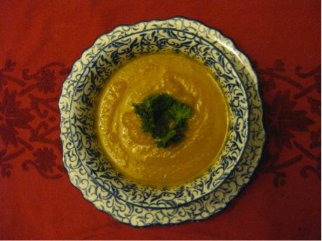 Sunday Dinners: Roast veggie soup.jpg