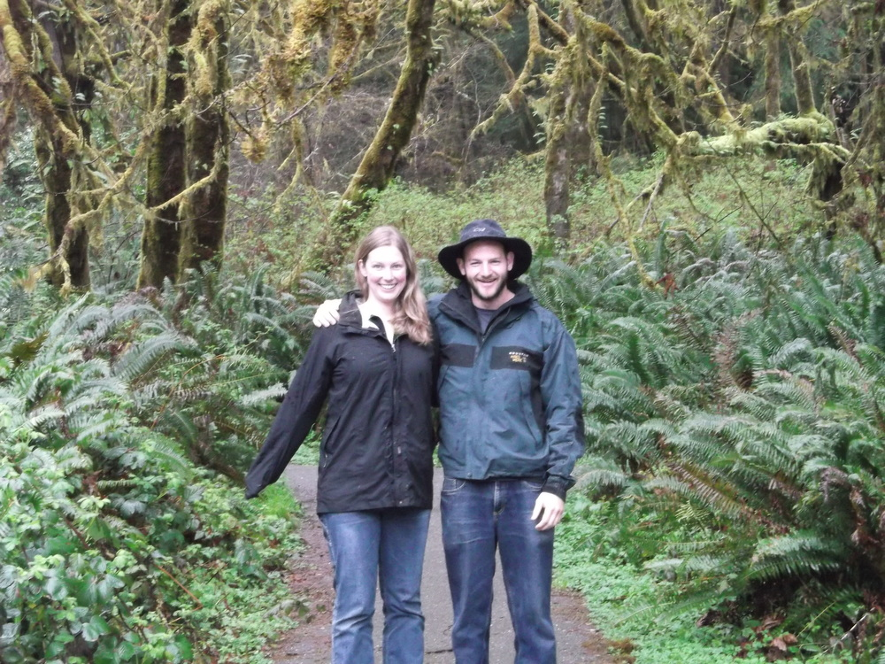 You should always look this happy while peer editing. Or wandering around in the forests in Northern California, as pictured here.