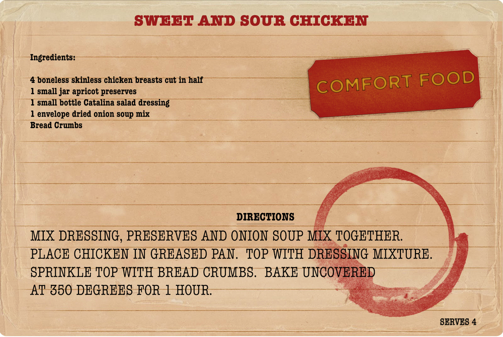 Sweet and Sour Chicken Sunday Dinner Recipe