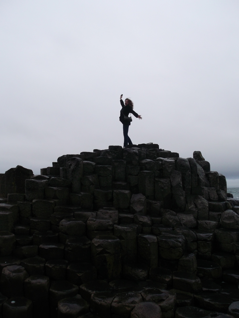 Does this look like failure to you? (At the Giant's Causeway, on the coast in Northern Ireland. Winter 2013)
