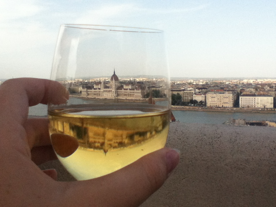 Here's a toast to you, wherever you might be! (photo taken in Budapest, 2012)