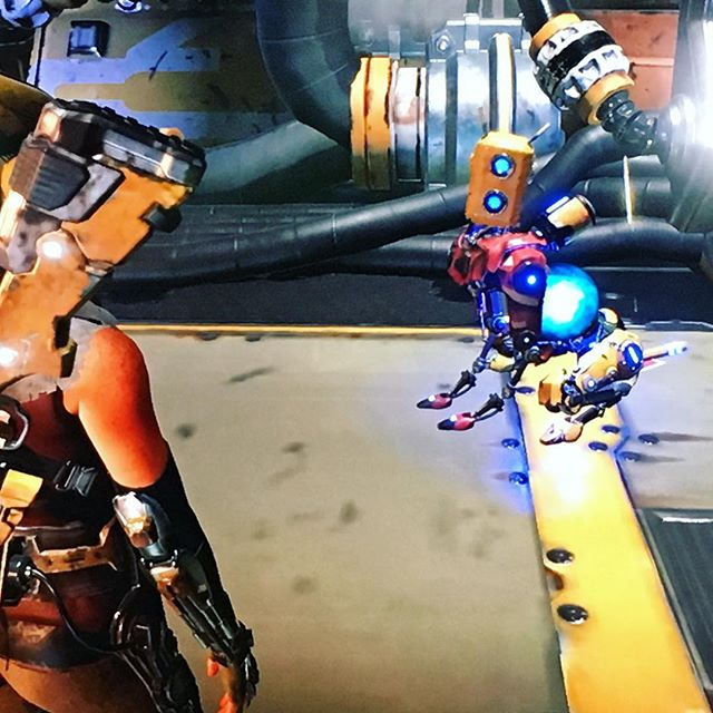 I love dogs. I love video games. I love robots. Just as I thought, the ReCore game is charming me.