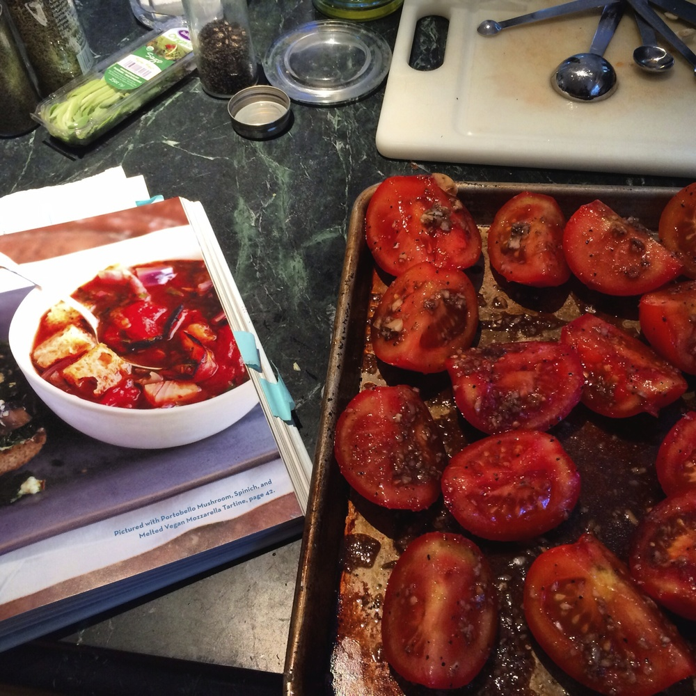Roasted Tomato Soup Prep