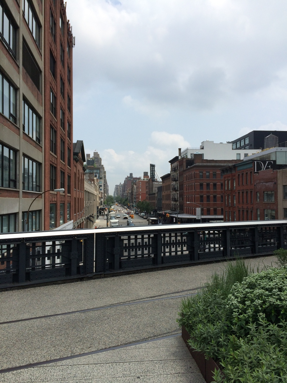 the High Line,