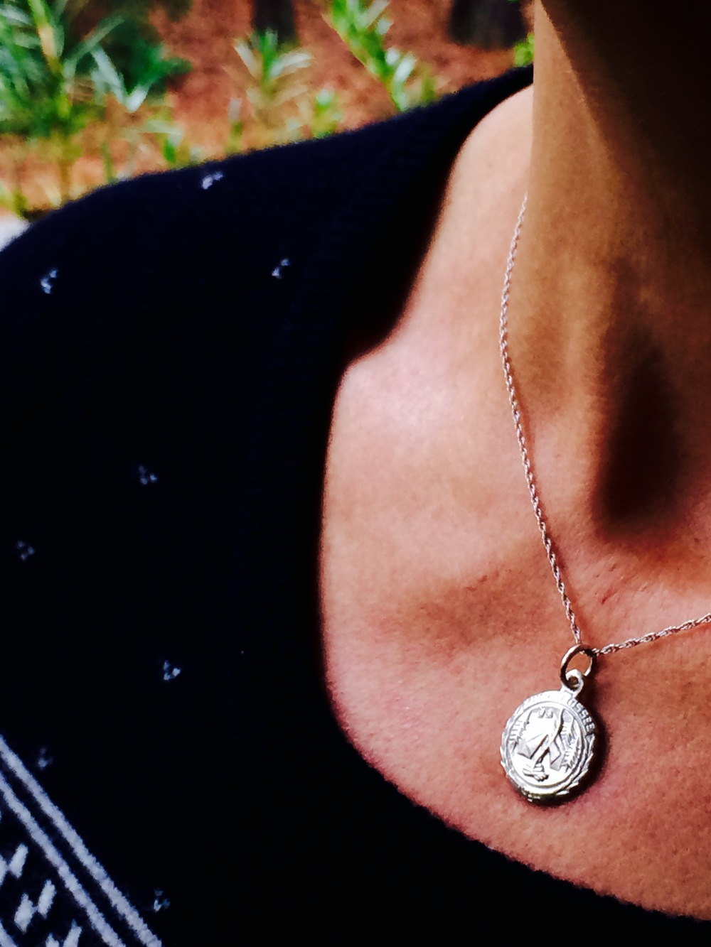 The 2014 version of my 1984 necklace. Love.