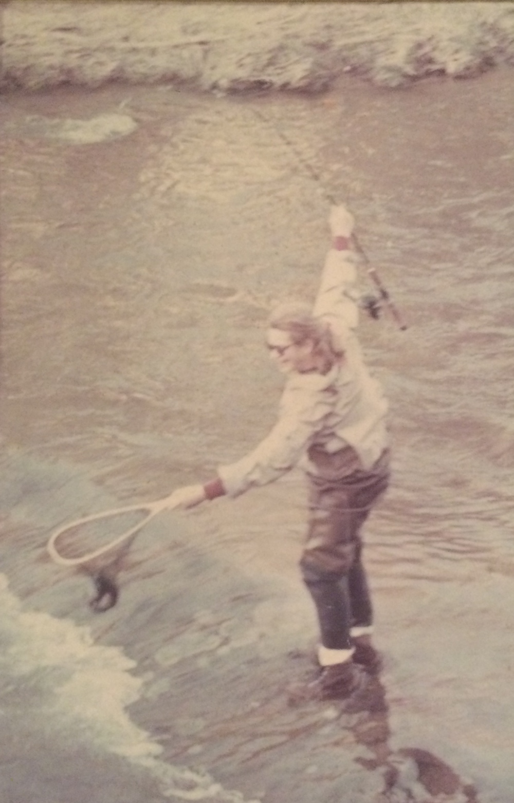 My Mom, back in the day.