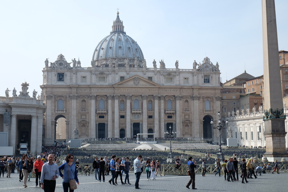 Vatican:  St. Peter's Church