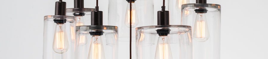 Apothecary Multi-Port Chandelier by Hammerton Studio