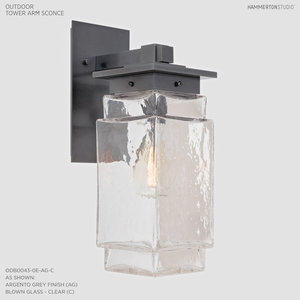 Outdoor lighting collection hammerton studio outdoor tower arm sconce odb0043 0e workwithnaturefo