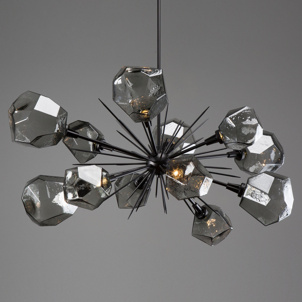 Customize your starburst chandelier with one of