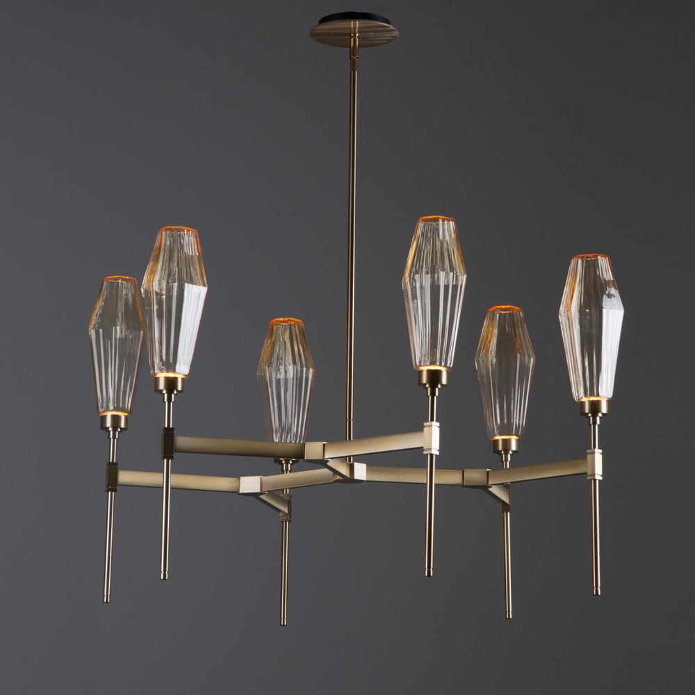 Belvedere metalwork is offered in five new fixture styles including single and double tier round chandeliers two linear suspensions and an elegant wall ... & Belvedere Metalwork u2014 Hammerton Studio