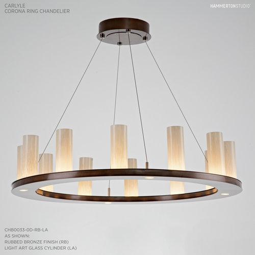 Corona ring chandelier chb0033 0d hammerton studio corona ring chandelier chb0033 0d mozeypictures Images