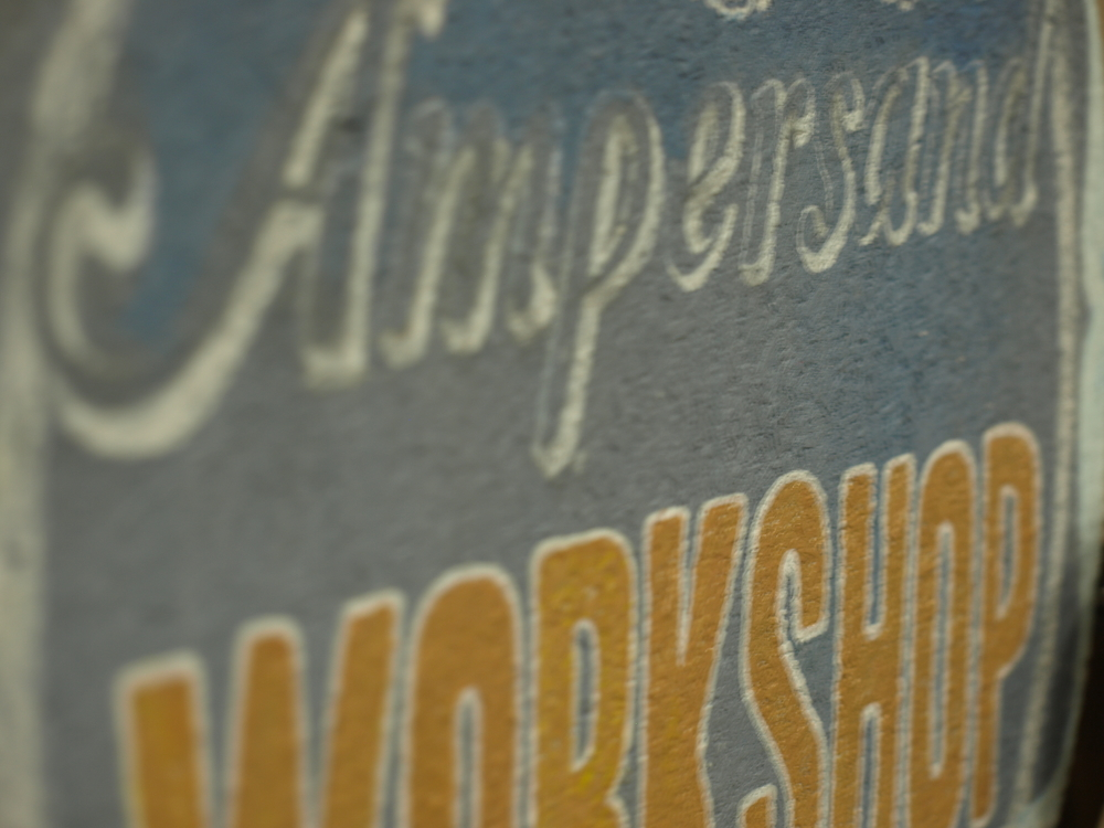 AmpersandWorkshopSign 10.JPG
