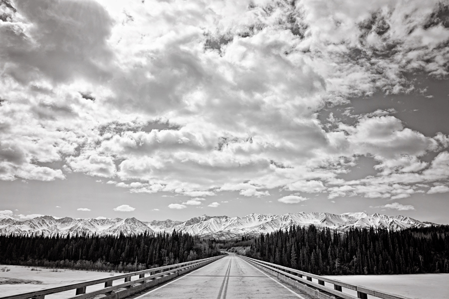 Alaska Highway.