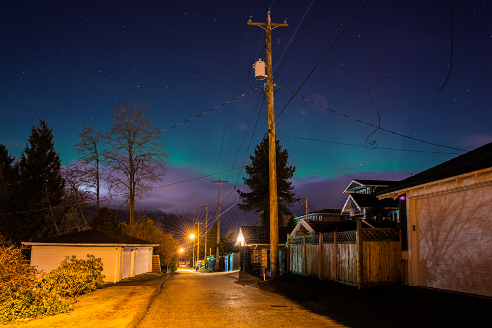 Aurora Alley, Burnaby.