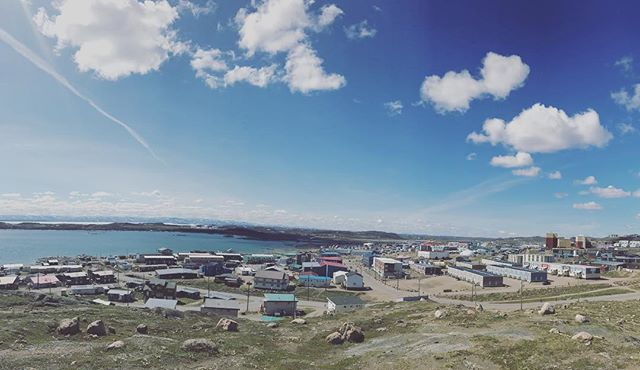 Iqaluit NU. Over the moon to be here to sing and experience the arts from Canada's arctic