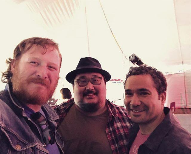 Alianait Festival performers Joshua Qaumariaq and Jamal Shirley