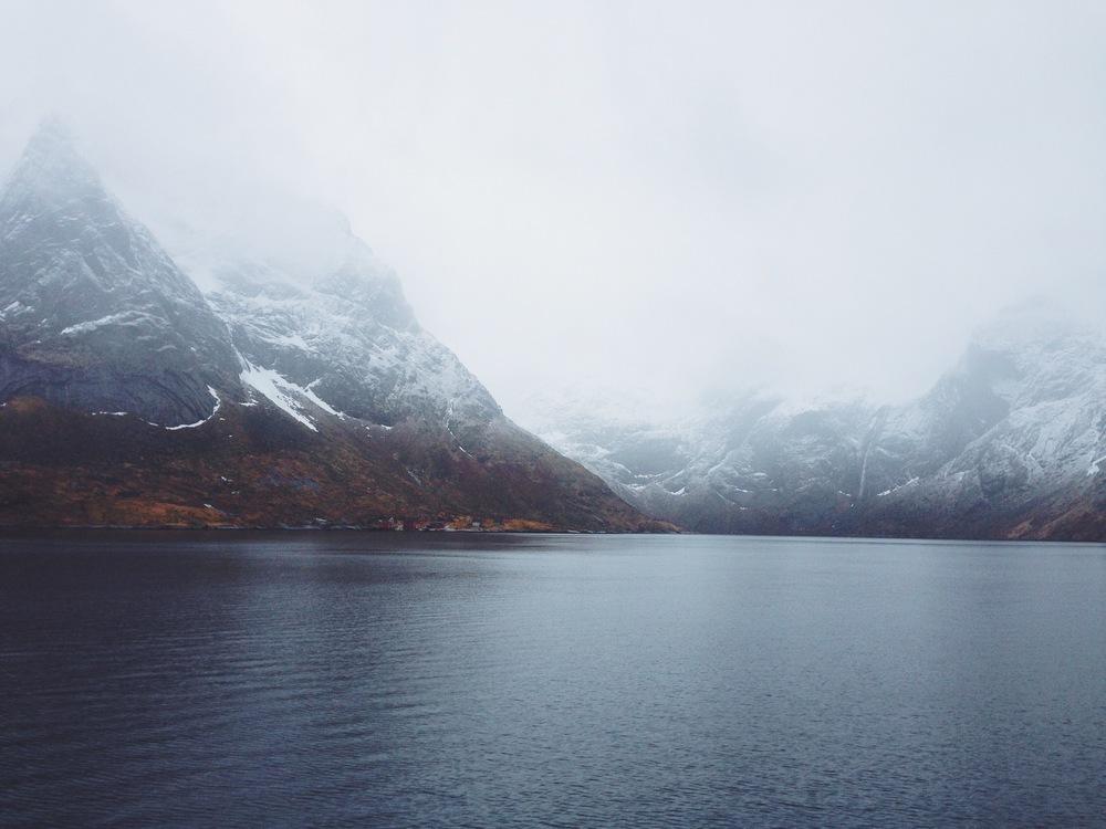 """Be Still""   Reinefjorden || Lofoten Islands, Norway ||March 2014 || Nikon D3000"