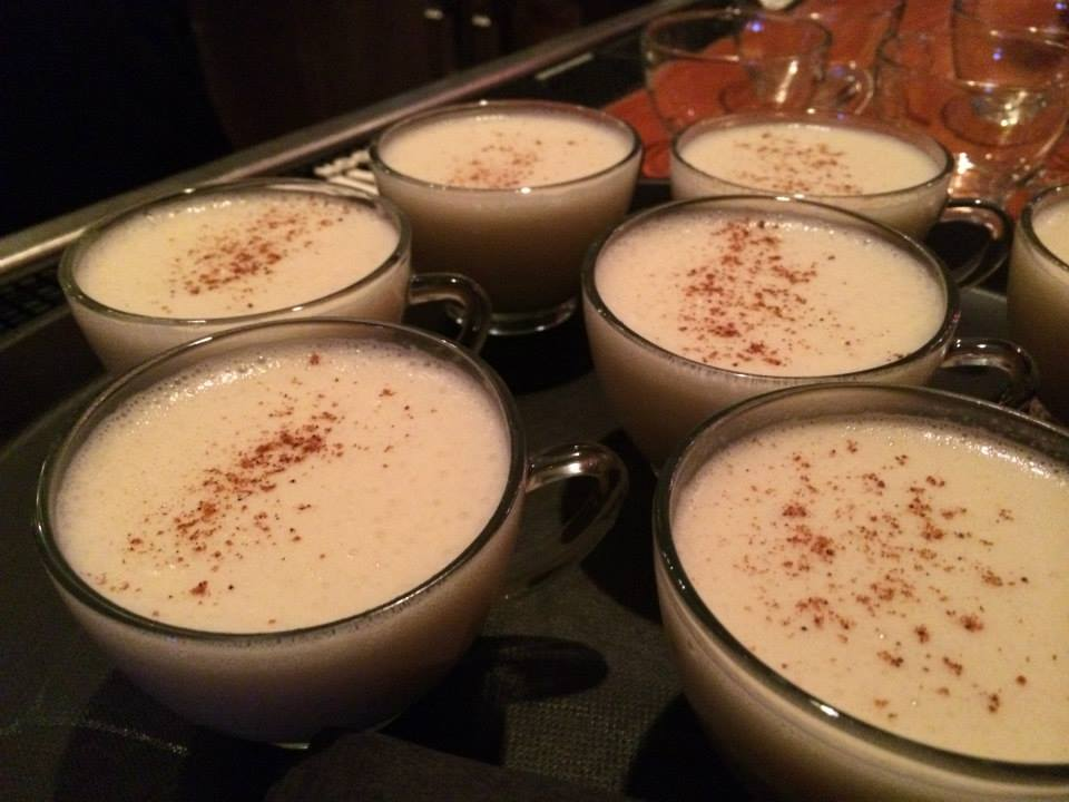 """Old St. Nick"" Spiked Egg Nog"