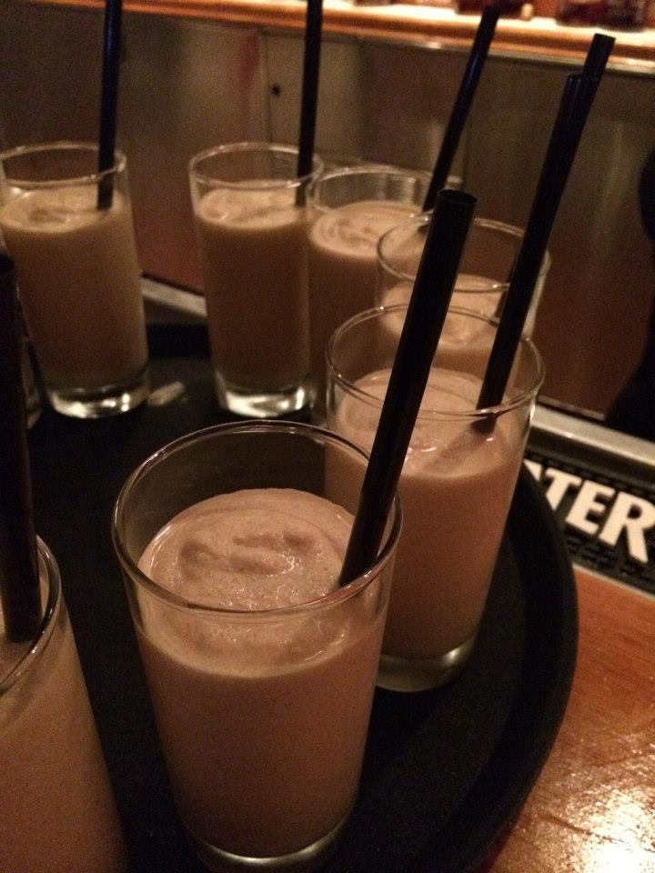 "The dessert's cocktail - ""Nice & Naughty"" Peanut Butter Bourbon Milkshake"