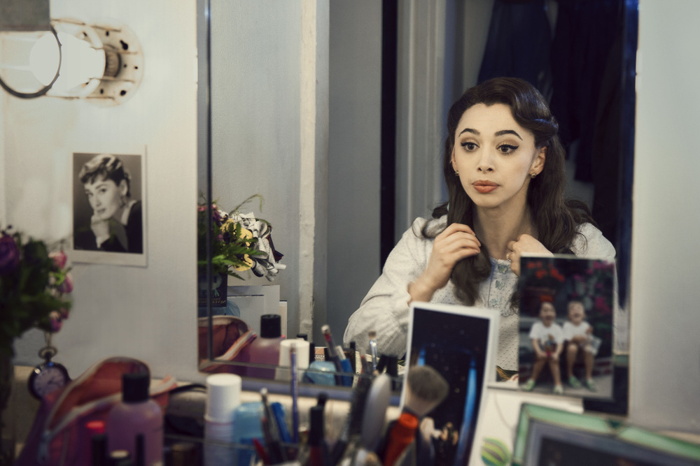 "Emma Pfaeffle - Dancer & Actress. Photographed backstage of ""Finding Neverland"""