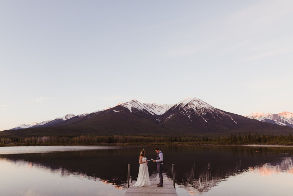 Brad + Ashley, Banff National Park