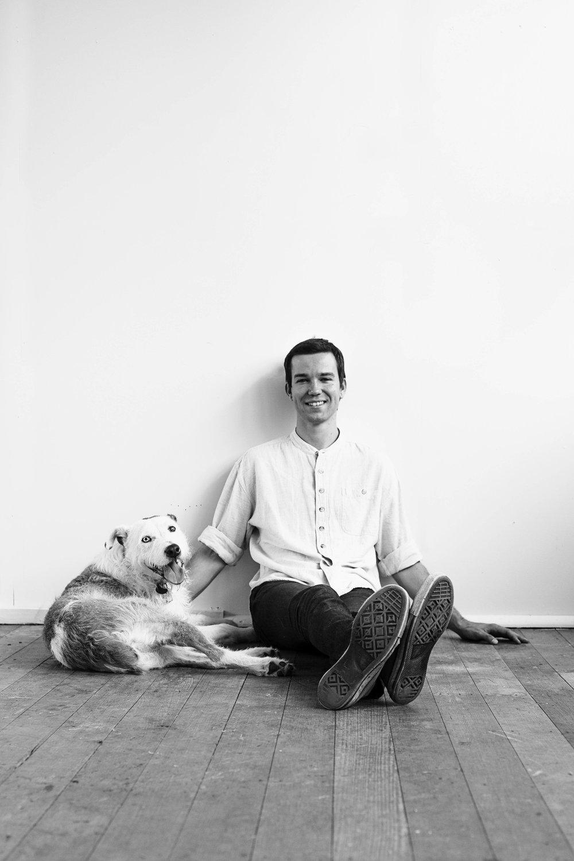 Joel with Rupert in 2016