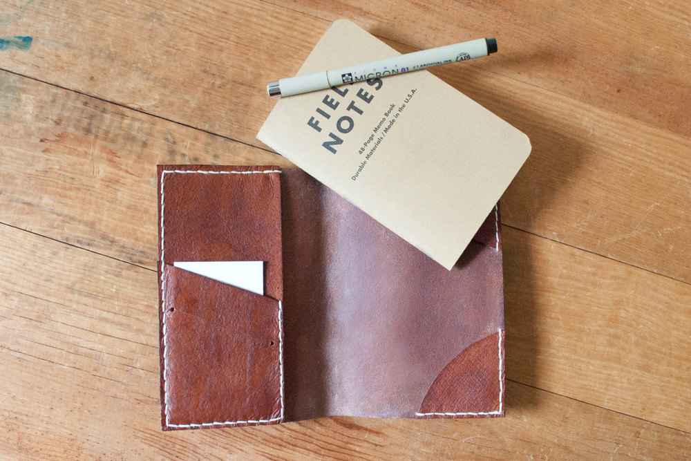 The Architect Notebook / Passport Cover $80