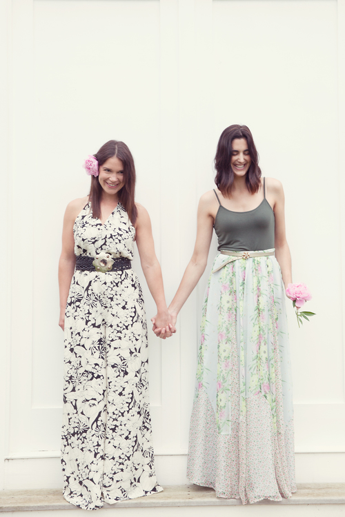 Andrea and Ashley Durfee Louelle Design Studio Portrait by Lives Styled
