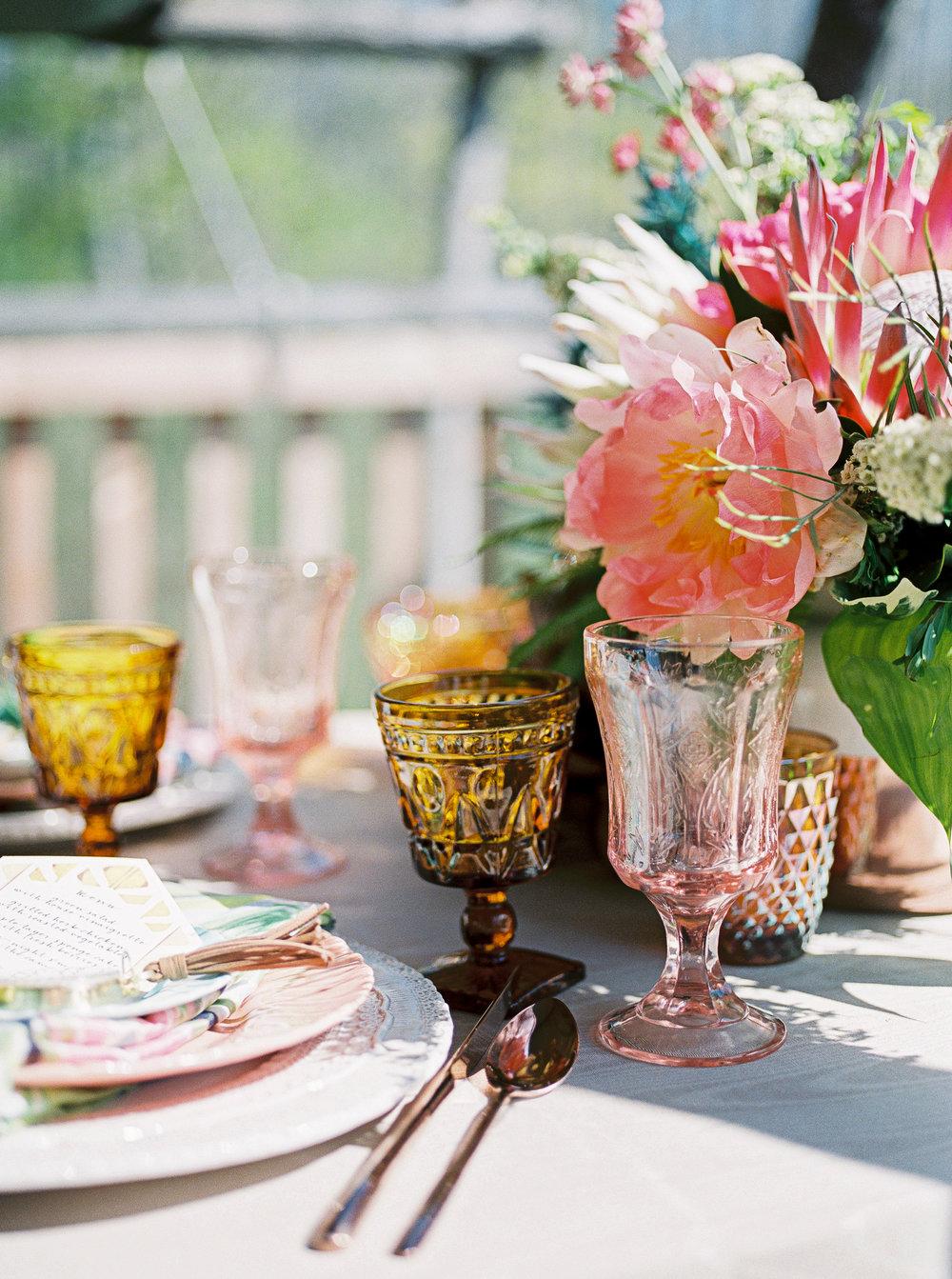 Rochester NY Louelle Design Studio Floral Boho Wedding Menu Stacy K Floral Alexandra Elise Photography.jpg