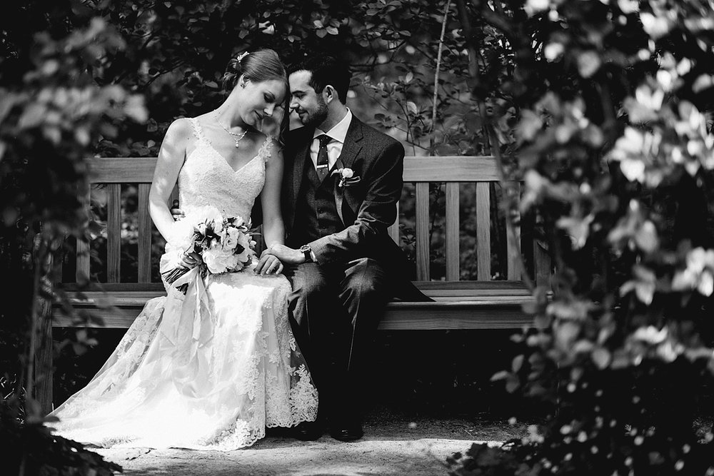 Denae and Brendon at Shakespeare Garden | Photo by  Christian Wilson