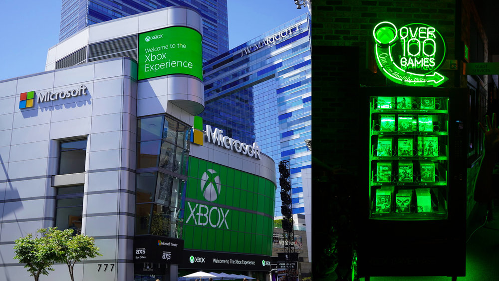 During E3 2018, the Microsoft Theater hosted the Xbox Experience which debuted our video alongside a physical brand activation expereince.
