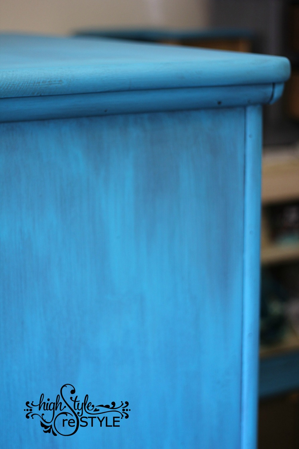 Sneak peek of van Gogh Furniture Paintology 'Confidence'