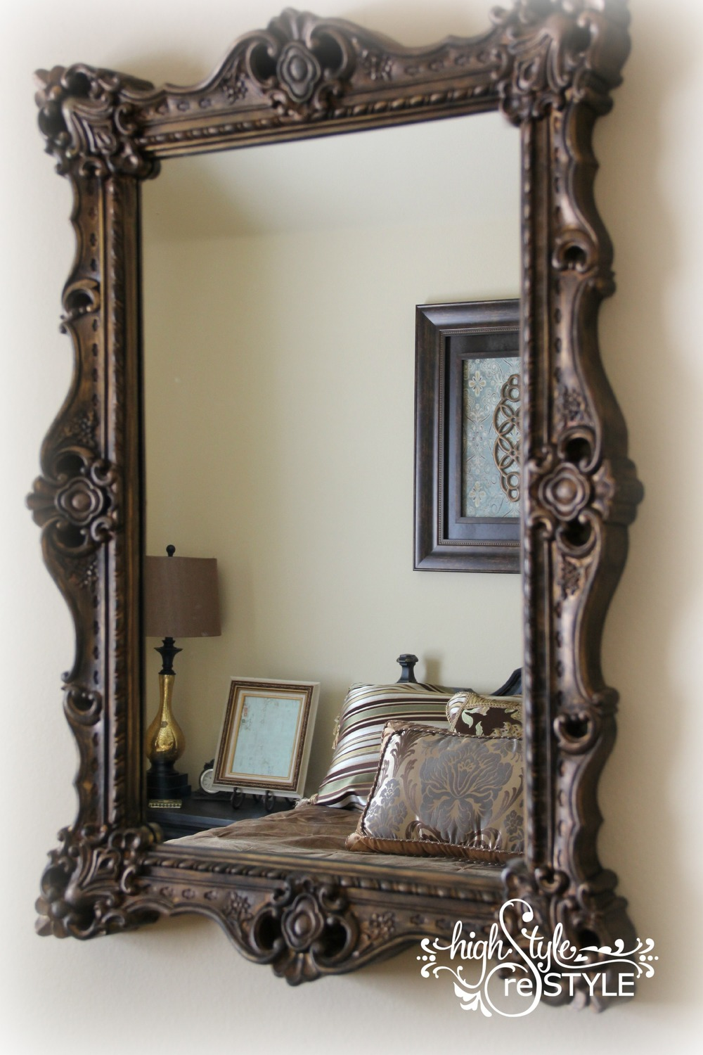 How To Update A Mirror With Paint Highstyle Restyle