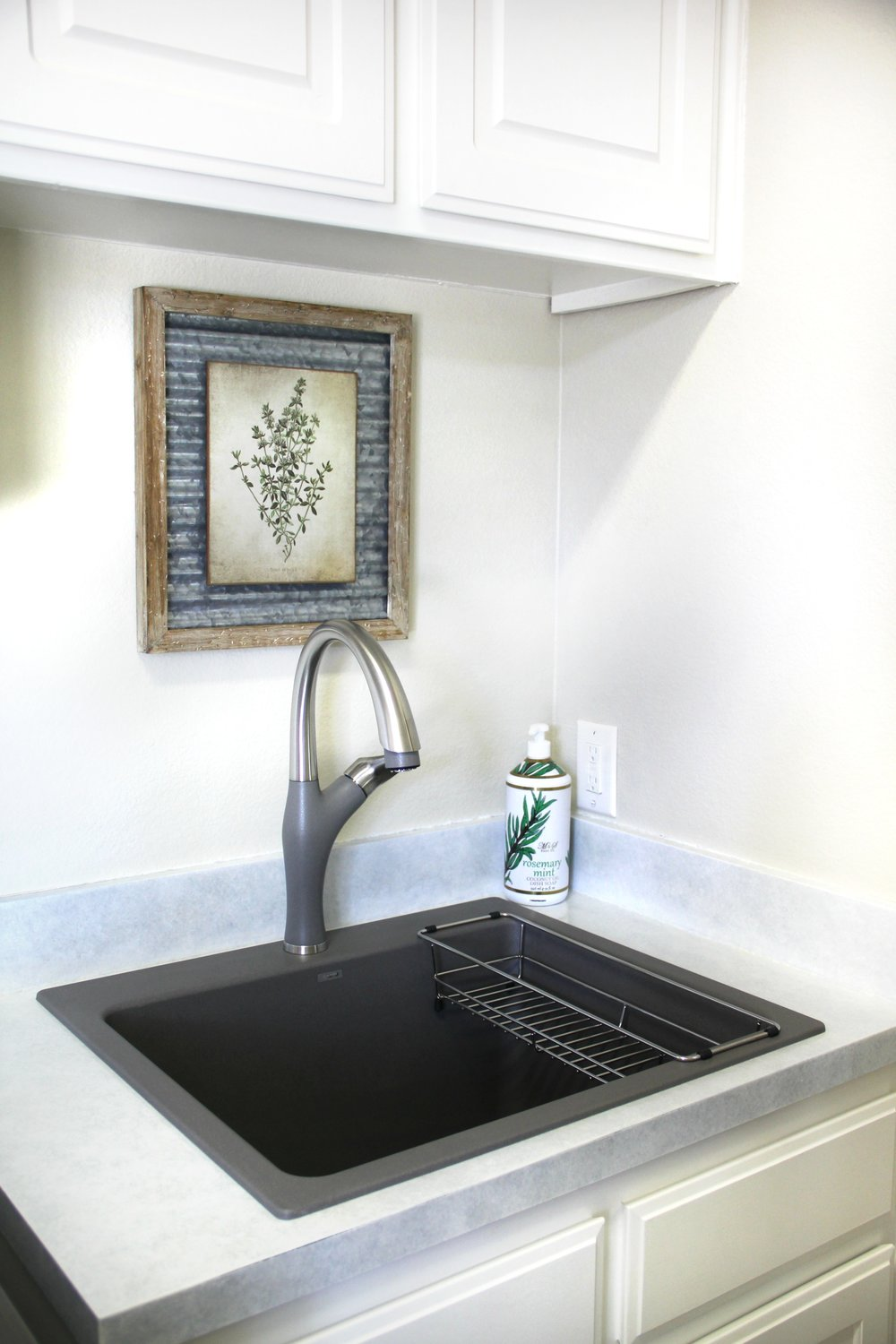 BLANCO LIVEN SINK IN METALLIC GRAY