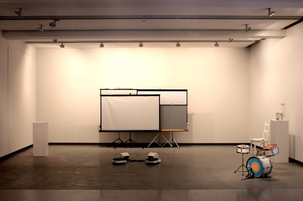 Turning The Tables (with Luke Jaaniste), 2013 Monash University Museum of Art (MUMA), Melbourne