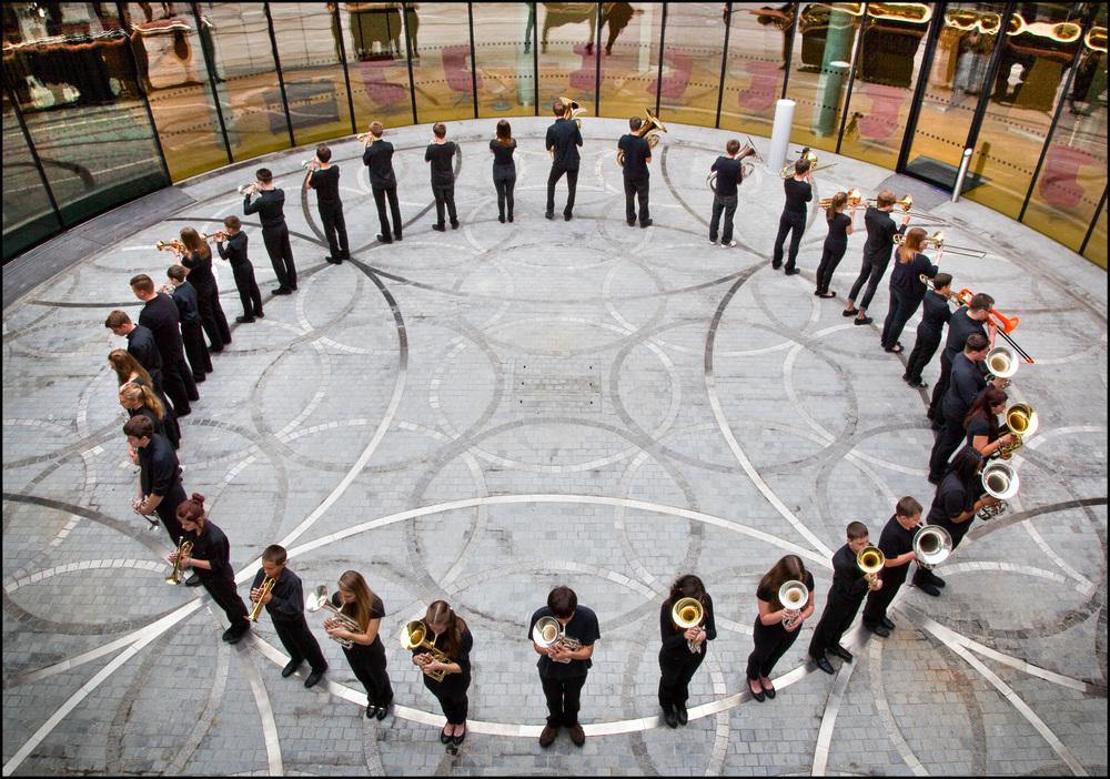 Together We Breathe , 2013 Library of Birmingham, UK  image: Gethin Thomas