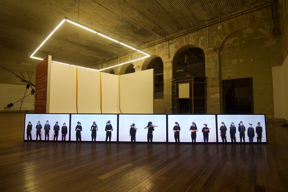 Studies In Unison , 2015 Sydney College of the Arts  Image: Troy Baird