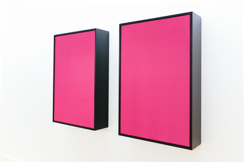 Vibrant Matter (pink)  Dominik Mersch Gallery, Sydney